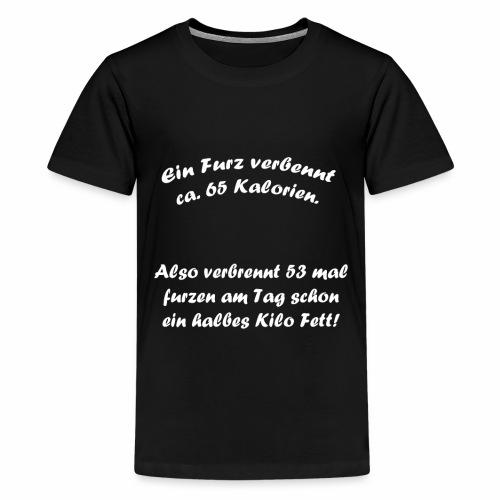 Sportlicher Furz Pups - Teenager Premium T-Shirt