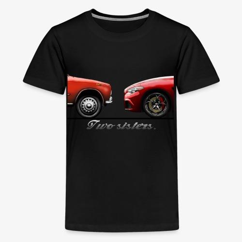 Alfa Giulia Old and New - Maglietta Premium per ragazzi