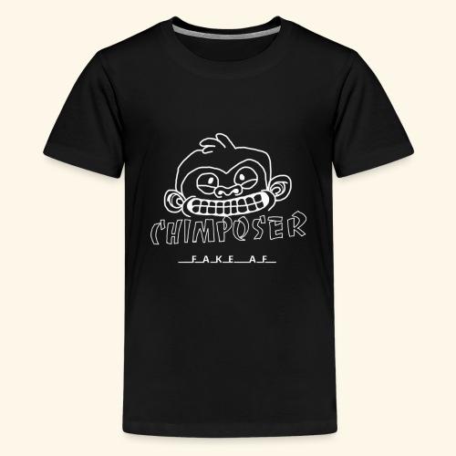 chimposer negative design - Teenager Premium T-shirt