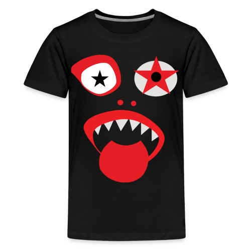 Clown Gesicht - Teenager Premium T-Shirt