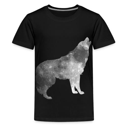 Mond im Wolfspelz - Teenager Premium T-Shirt