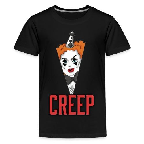 CREEPY VEE - Teenage Premium T-Shirt