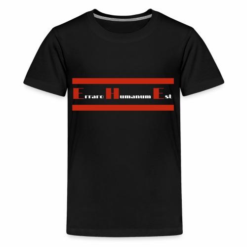 Roter Balken - Ehe - Teenager Premium T-Shirt