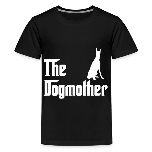 The Dogmother white dobermann - Teenager Premium T-Shirt
