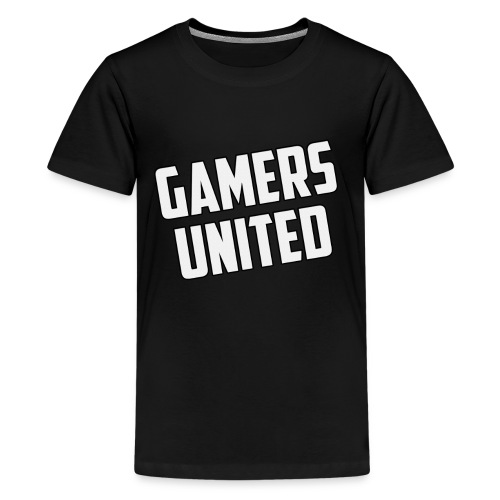 Gamers United - Teenage Premium T-Shirt