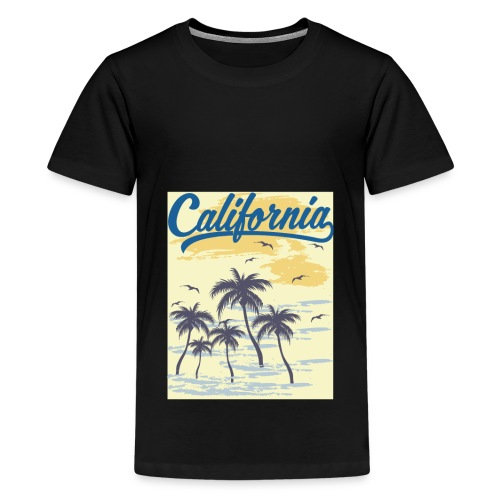California Transparent - T-shirt Premium Ado
