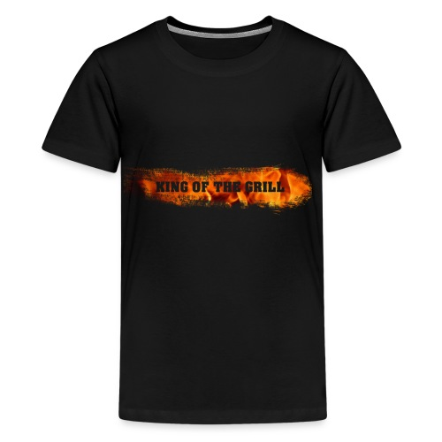 King of the Grill - Teenager Premium T-Shirt