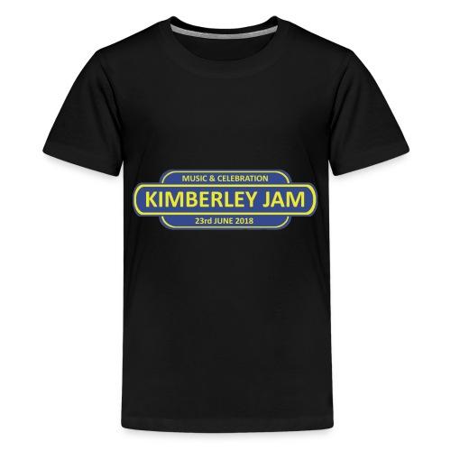 Kimberley Jam Logo - Teenage Premium T-Shirt