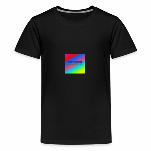 Lukas Minecraft Navn - Teenager premium T-shirt