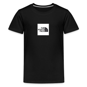 the north face logo - Teenage Premium T-Shirt