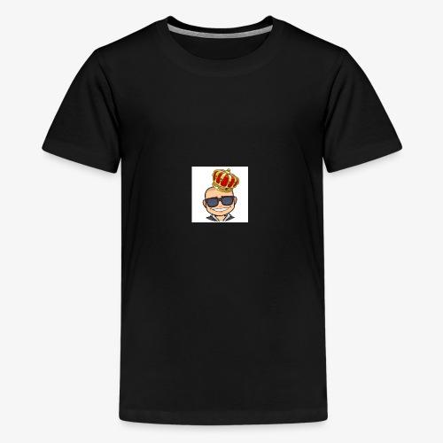 My king - Premium-T-shirt tonåring