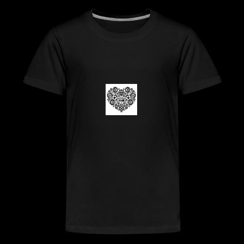 serduszko - Koszulka młodzieżowa Premium