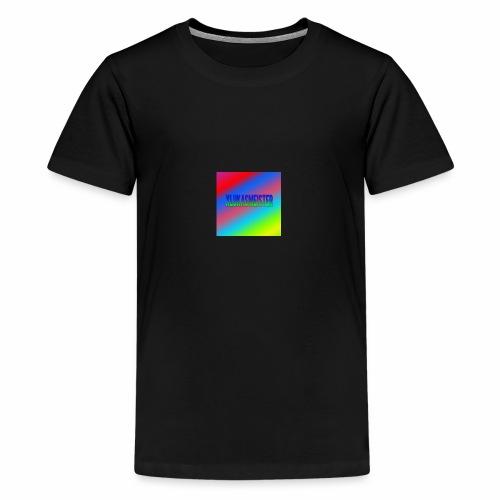 Lukas Minecraft Navn - Teenager premium T-shirt