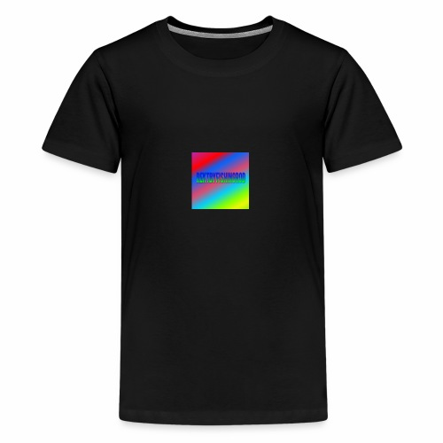 Mikkels Minecraft Navn - Teenager premium T-shirt