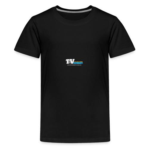 TVROSBACH Logo Vorne - Teenager Premium T-Shirt