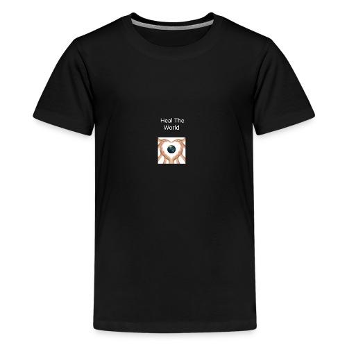 HealThe World - Camiseta premium adolescente