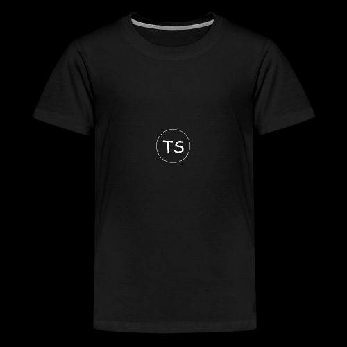 THE SPION KOLLEKTION 1 (BLACK EDITION) - Teenager Premium T-Shirt