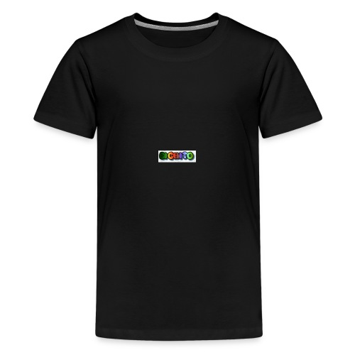 cooltext206752207876282 - Camiseta premium adolescente