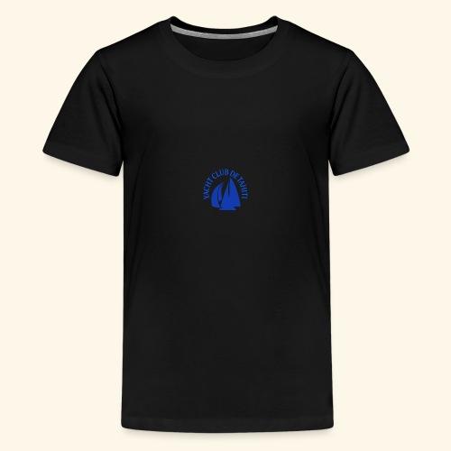 yacht club de tahiti logo - T-shirt Premium Ado