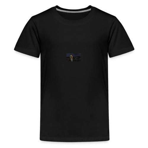 Original hurdy mask - Teenage Premium T-Shirt