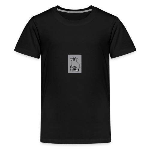 Chat-loup - T-shirt Premium Ado