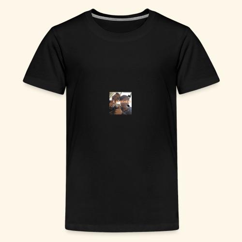 deksel am gamerz - Premium T-skjorte for tenåringer