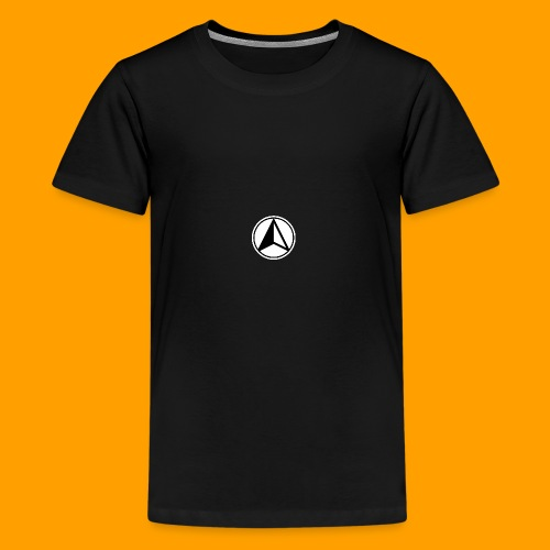 Black and White logo - Teenage Premium T-Shirt