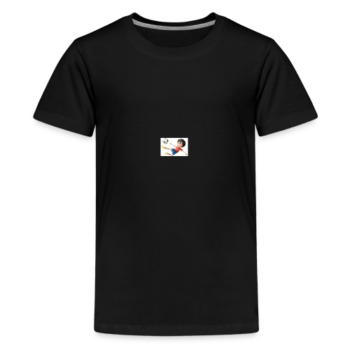 Freestyle Kid Cartoon - Teenage Premium T-Shirt