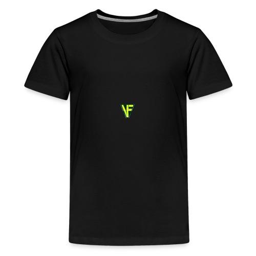 Virtual Farmer VF Logo - Teenage Premium T-Shirt