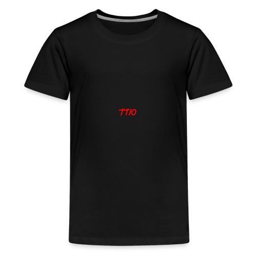 TroubledTV spike logo - Teenage Premium T-Shirt