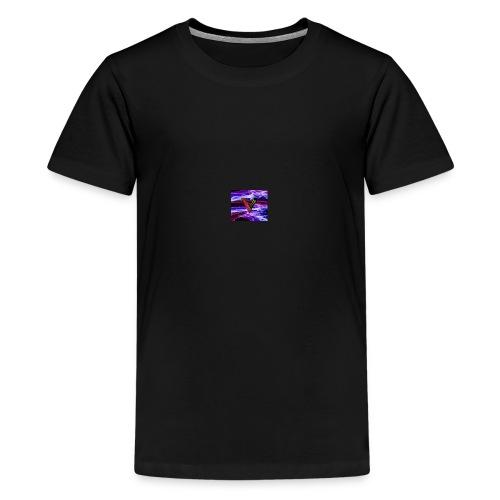 629a09e4fe7528f1caab1e77afdeb4f6 vc logo type log - Premium-T-shirt tonåring