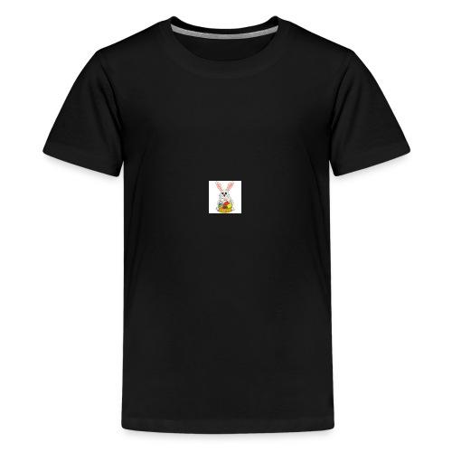 Påskhare - Premium-T-shirt tonåring