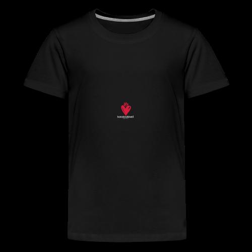 Hand aufs Herz - Teenager Premium T-Shirt