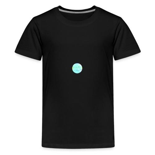 TShirt Simple Noir C2R - T-shirt Premium Ado