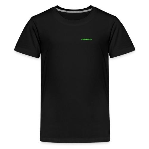 ItzBrandon123 Tshirt - Teenage Premium T-Shirt