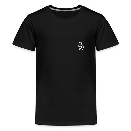 DrBenBrap White Design - Teenage Premium T-Shirt