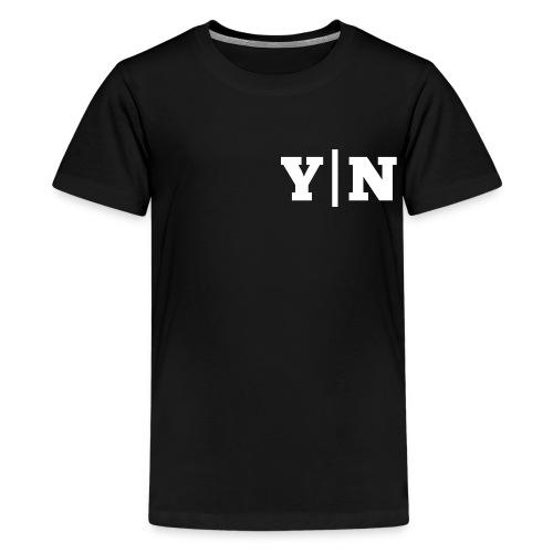 Y|N Edition - Teenager Premium T-Shirt