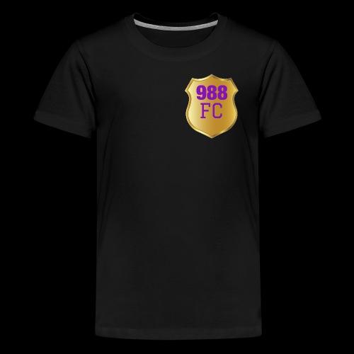988 FC shirts - Teenage Premium T-Shirt