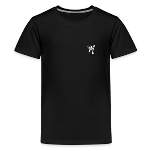ItzManzey (BLACK TOPS AND HOODIES) - Teenage Premium T-Shirt