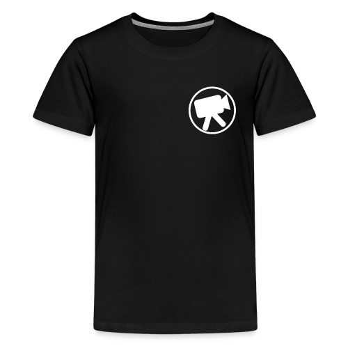 logo wit videotijd - Teenager Premium T-shirt