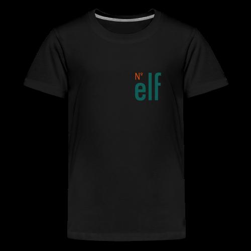 No. elf Logo - Teenager Premium T-Shirt