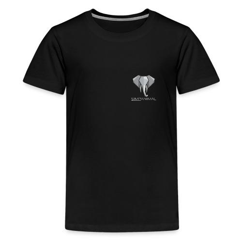 SimpAnimal - Simpler Elephant - Simpel - Schön - Teenager Premium T-Shirt
