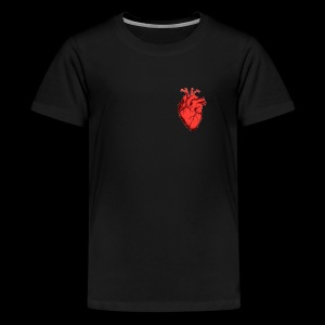 Red Heart - T-shirt Premium Ado