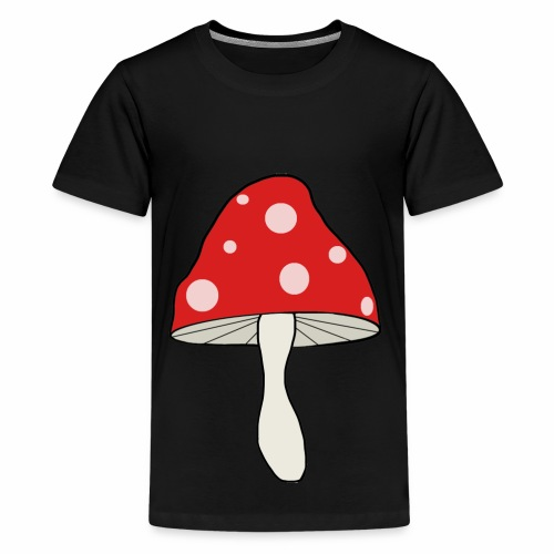Roter Pilz - Teenager Premium T-Shirt