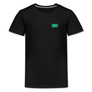 backgrounder - Teenager Premium T-Shirt