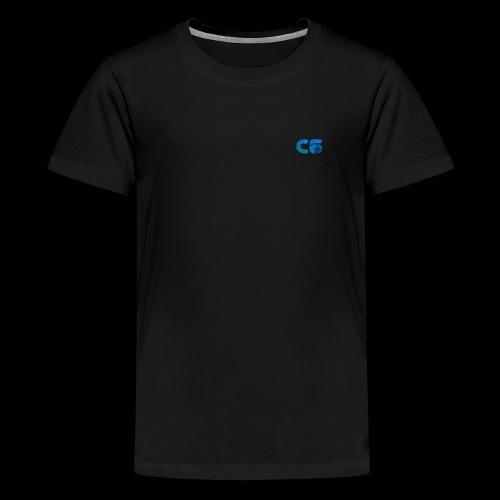 C6 Logo - Teenage Premium T-Shirt