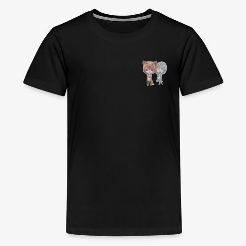 Abi and Lou - Teenage Premium T-Shirt