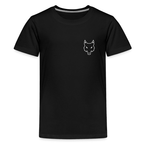 Logo pure weiß - Teenager Premium T-Shirt