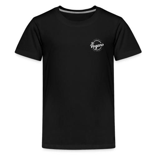 Yo Vegano Basic Design - Logo - Teenager Premium T-Shirt