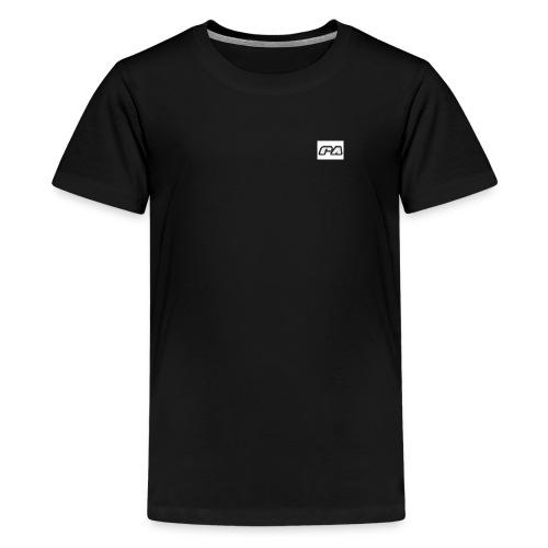 RoshaanRa Offical RA LOGO TSHIRT - Teenage Premium T-Shirt